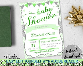 baby shower invitation template  etsy, Baby shower invitations