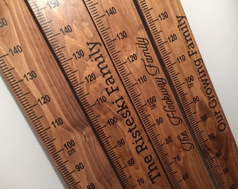 Family Growth Chart Rulers