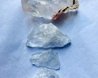 Clear Quartz rough stones