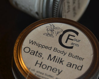 Oats Milk and Honey Whipped Body Butter