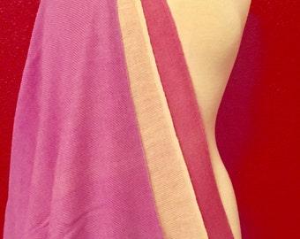 100% pashmina (cashmere) shawl..