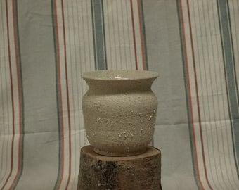 hand thrown pottery vase/wine cooler