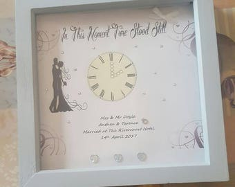 Mr & Mrs Personalised Wedding Frame