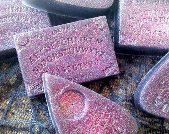 """Style After Death: Cherry Cotton Candy Body Soap Ouija Board or Planchette """"Pointer"""""""
