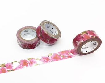 Lily-like Floral Washi Tape - Season's Color Series