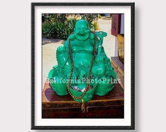 Buddha Photo, Lucky Buddha Photograph, Good Luck Charm, Prosperity Print, Abundance, Money Buddha, Wealth, Good Fortune Print, Wall Art