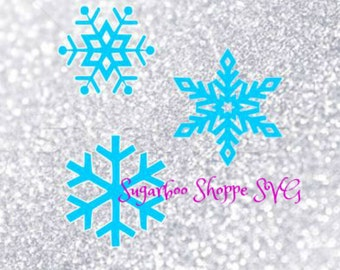 Snowflake svg / Christmas svg / Holiday svg / Winter svg / Snow svg / Instant download ZIP file with svg, dxf, pdf, png, and jpg files