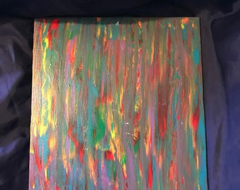 Wave of Colors Abstract painting
