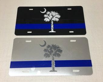 South Carolina Police License Plate