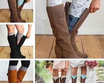 Lace Boot Cuffs