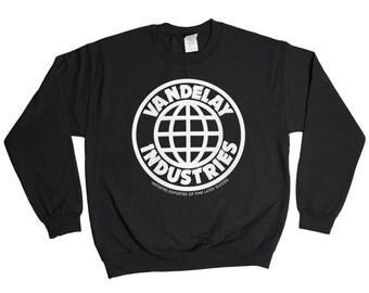 Vandelay Industries Sweatshirt - George Costanza Jerry Seinfeld NYC Sweater - Mens Womens - Holiday Sweater Pullover Oversize Shirt