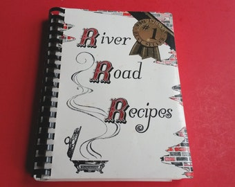 Vintage Junior League Cookbook Baton Rouge Louisiana 1984 River Road Recipes