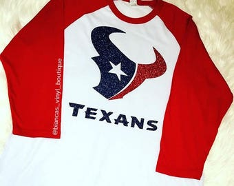 Houston Texans Glitter Shirt