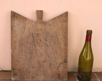 ANTIQUE VINTAGE FRENCH bread or chopping cutting board wood 1804176