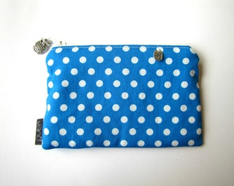 Thin wallet Slim fabric wallet Thin card wallet Thin card holder Pocket size wallet Women coin wallet Zipper pouch for her Card wallet Bag