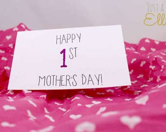 Happy 1st Mother's Day ~ Card