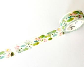 Water Lillies Washi Tape 15mm