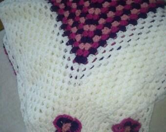 Cover hook hand made grannysquare