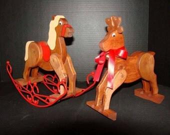 Rocking Horse/Rocking Reindeer