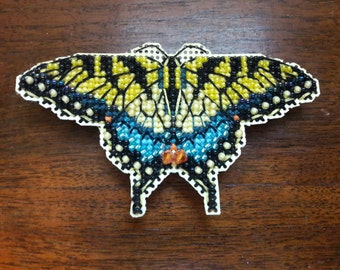 Yellow Swallowtail magnet