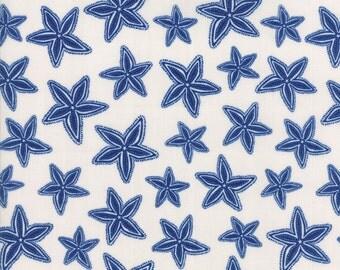 Moda Tide Pool Seaside Starfish White 24563-11