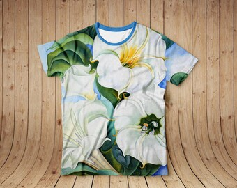 Jimson Weed by Georgia O'Keefe, t-shirt, full print all sizes