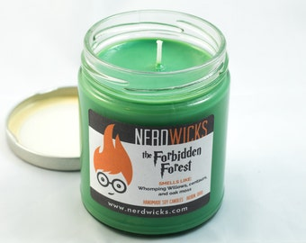 The Forbidden Forest - Harry Potter Inspired Candles, Fall Scent