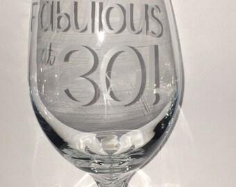 Custom Etched Glasses