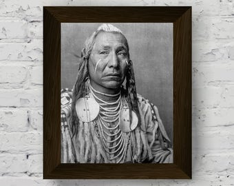 indian print, tribal artwork, sioux wall art, indian tribes, indigenous people, wall art prints, black and white photo, digital download