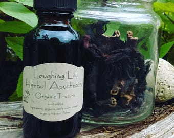 Organic Hibiscus Tincture 1oz