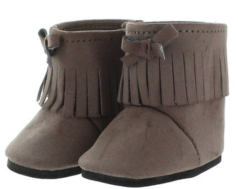 Brown Hipster Boots for 18 inch dolls