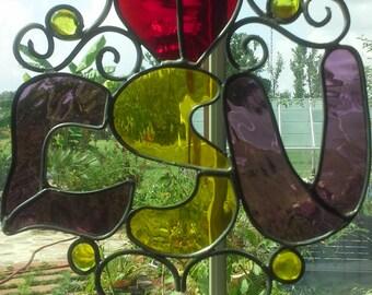 LSU Stain Glass