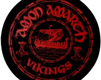 Amon Amarth Vikings Circular Back Patch