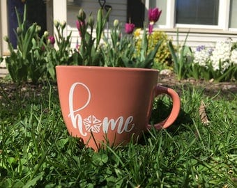 Home Sweet Roc mug | 16oz stoneware mug | Rochester, NY | Flower City
