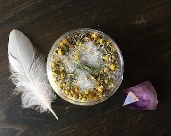 CALM: Epsom Salt & Herbal Bath Soak, Relaxing Bath Soak, Sore Muscle Soak