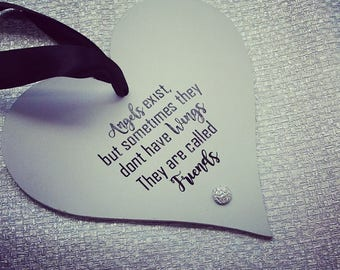 Hanging Friend Heart