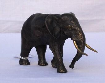 Statuette bronze éléphant / Elephant bronze statue