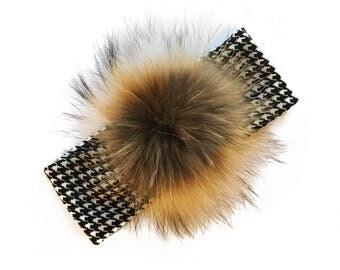 XL Pompom HeadBand