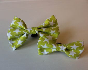 Alex Dog Bow Tie - Green