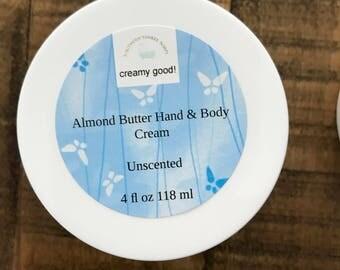 Almond Butter Hand & Body Cream