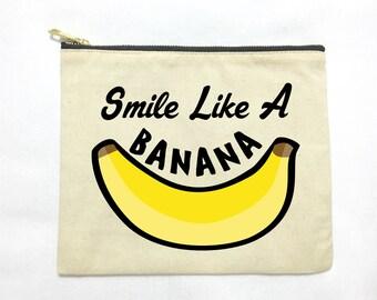 Smile Like A Banana Pouch