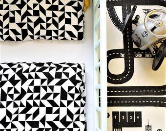 Duvet cover | Toddler duvet cover | Cotton duvet cover | Black and white | Kids Bedding | Nursery bedding | Crib bedding | Kidsroom |