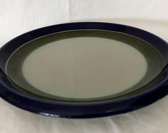 "Marianne Westman Rörstrand Dinner plate  ELISABETH Hand painted. Ovenproof. VDN S555. Best Swedish design. Stone ware Diameter 25 cm /9,8"""