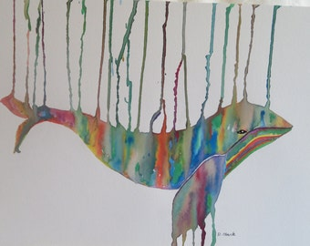 Dripping Whale
