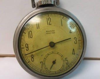 Vintage Westclox Pocket watch for parts or repair