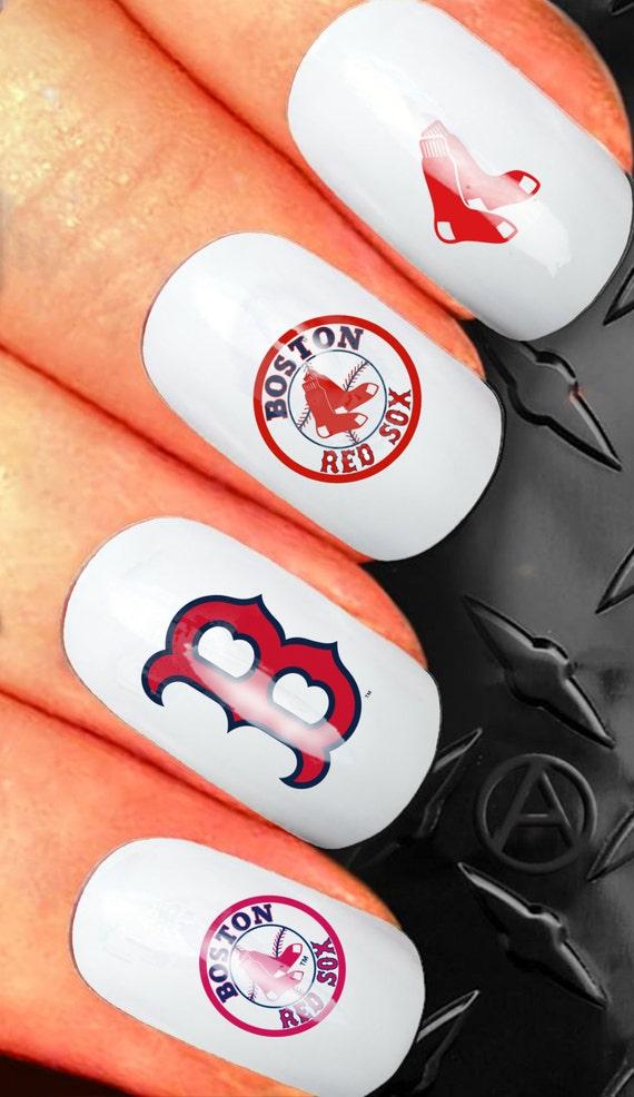 Colorful Yankees Nail Art Component - Nail Art Design Ideas ...