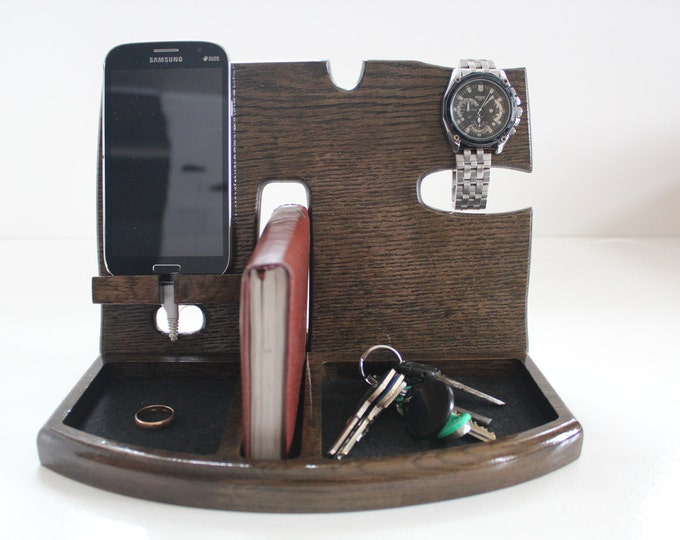 Birthday Gifts For Men,Gifts for Boyfriend,Phone Docking Station,Gift for men,Fathers Day Gift,Gifts For Husband,groomsmen gift,gift for man