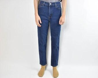 Vintage Blue Levis 512 High Waisted Mom Jeans