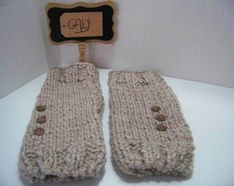 Gaiters (leg warmers) for child (mole) #101