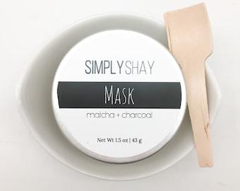 Matcha + Charcoal Mask